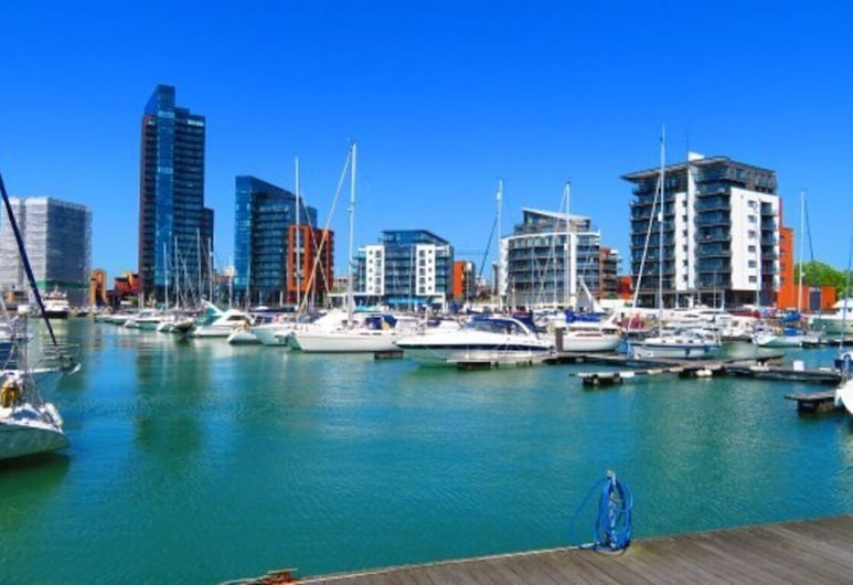 Immaculate 1 Bed Apartment in Southampton, Southampton, Lejlighed - 1 queensize-seng, Værelse