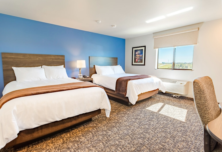My Place Hotel Phoenix West Buckeye AZ, Buckeye, Room, 2 Queen Beds, Accessible (Hearing, with Recliner), Guest Room