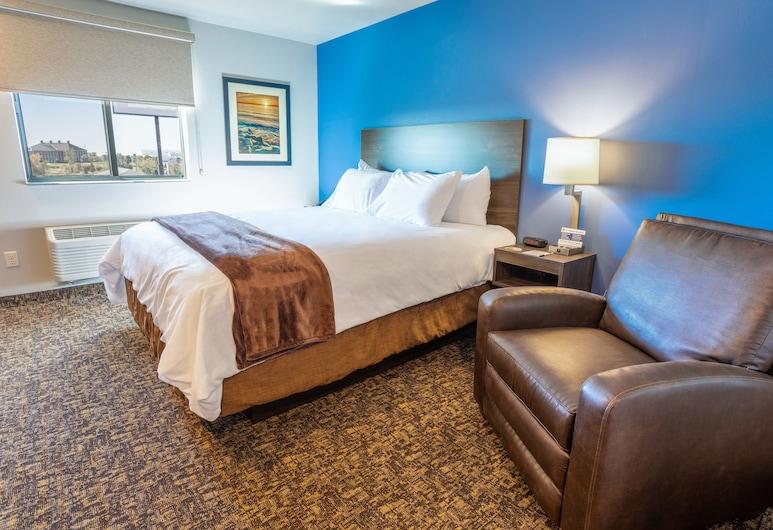 My Place Hotel Phoenix West Buckeye AZ, Buckeye, Zimmer, 1 Queen-Bett, barrierefrei (Mobility & Hearing, Roll-in Shower), Zimmer