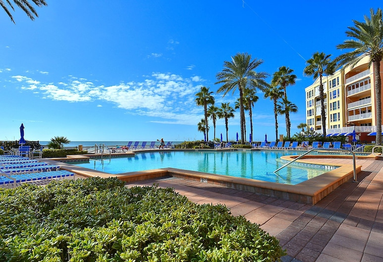 Tides 423 - Pools, Hot Tubs, Grills and Gulf Views, نورث ريدنجتون بيتش, شقة - عدة أسرّة (Tides 423 - Pools, Hot Tubs, Grills a), حمام سباحة