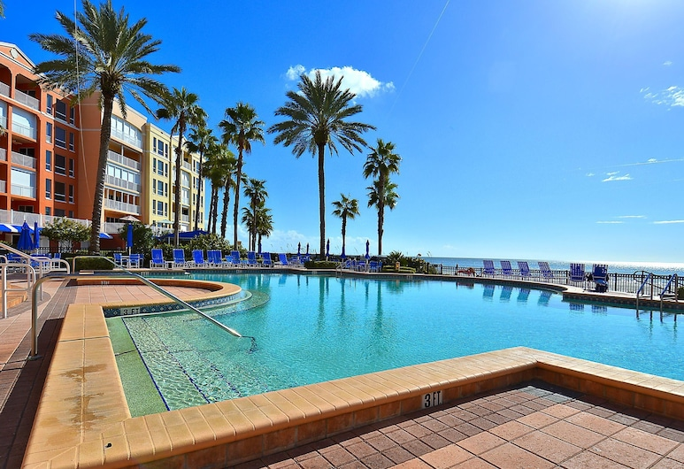 Tides 423 - Pools, Hot Tubs, Grills and Gulf Views, North Redington Beach, Condo, Multiple Beds (Tides 423 - Pools, Hot Tubs, Grills a), Pool