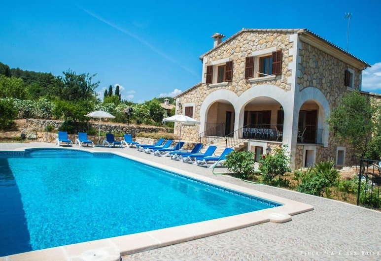 Villa Ses Rotes With Pool in Mallorca, Campanet