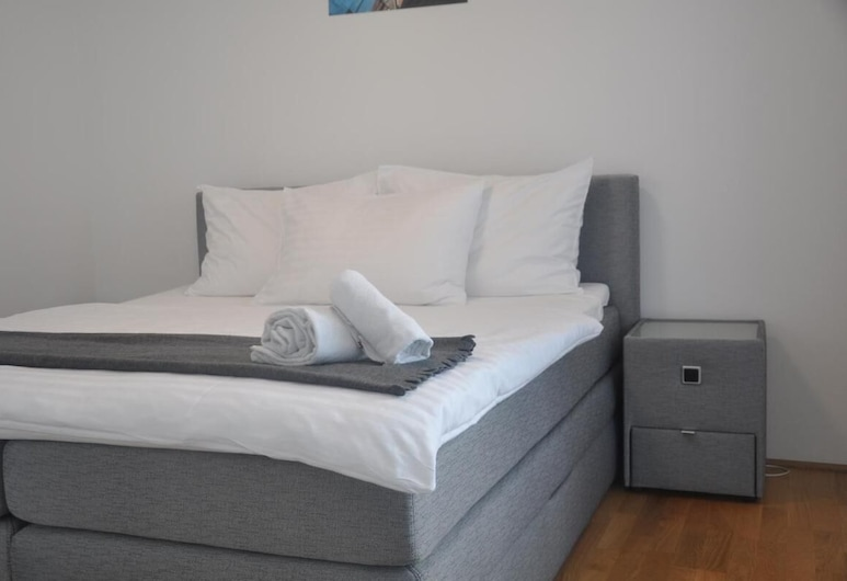 High Standing Vienna Apartment Contactless Check-in Up to 6, Vín, Herbergi