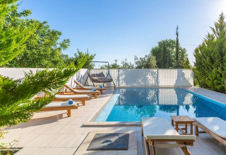 Villin Villa Supper Luxury Villa With Private Pool, Kas, Piscina