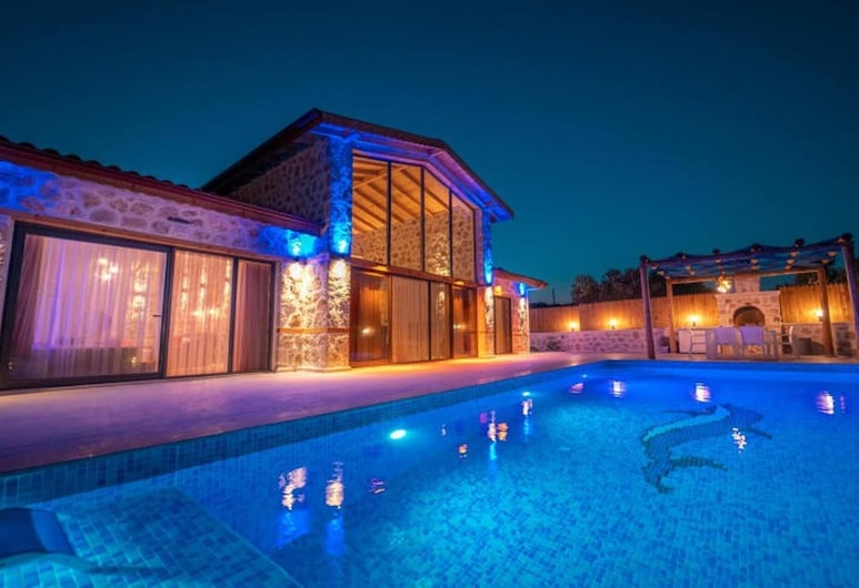 Dolfin Villa With Jacuzzi And Private Pool, Kas, Pool