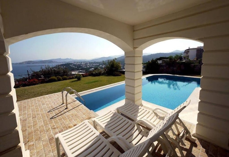 Green Royal 6-super Luxury Villa With Private Pool, Bodrum, Bazén