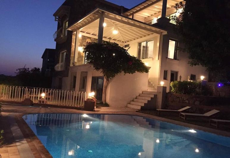 Özel Havuzlu, 6 Yataklı Green Royal 2 Villa, Bodrum, Havuz