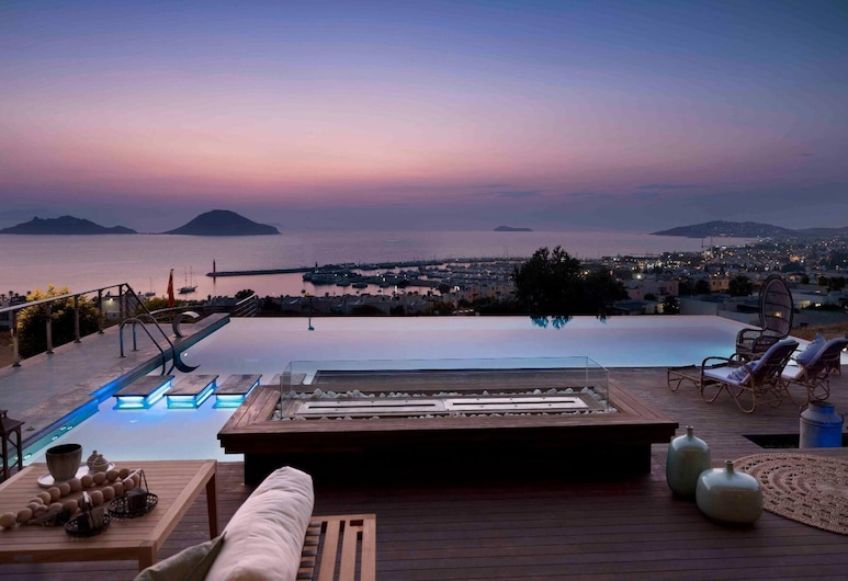 Super Luxury Villa With Amazing View And Pool, Bodrum, Svømmebasseng