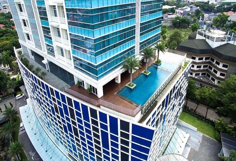 Three-bedrooms Apartment, Oakwood Suites La Maison Jakarta, Jakarta, Piscina
