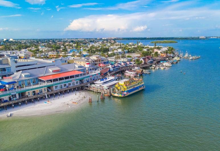 Tropic Terrace #54 - Beachfront Rental 1 Bedroom Condo, Treasure Island, Soukromý byt, 1 ložnice, Pláž