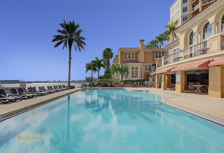 Belle Harbor Suite 403 - Monthly Beach Rental 2 Bedroom Home, Clearwater Beach, Ferienhaus, 2 Schlafzimmer, Pool
