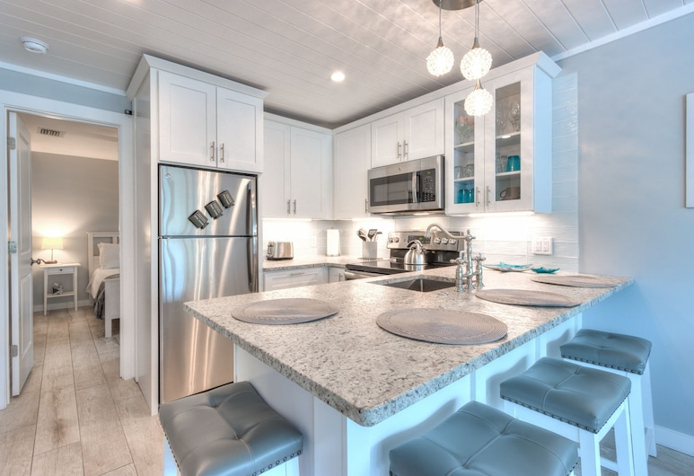 Island Vibes Iii - Weekly Vacation Rental 3 Bedroom Cottage, Clearwater Beach, Cottage, 3 chambres, Cuisine privée
