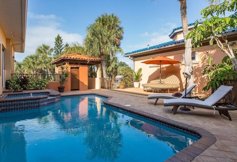 Clearwater Beach Elegance 6 Bedroom Home, 清水海灘, 獨棟房屋, 6 間臥室, 游泳池