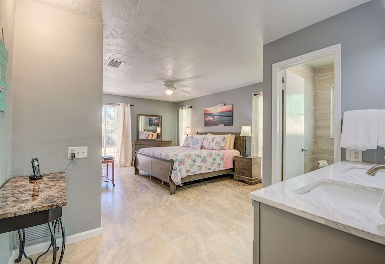 Clearwater Beach Getaway 3 Bedroom Home, Clearwater Beach, Casa, 3 camere da letto, Camera