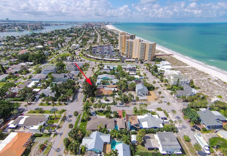Seagrass Escape - Monthly Beach Rental 2 Bedroom Home, Clearwater Beach, House, 3 Bedrooms, Exterior