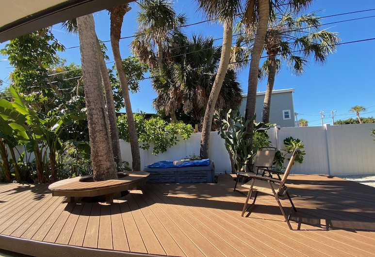 Seagrass Escape - Monthly Beach Rental 2 Bedroom Home, Clearwater Beach, Hus, 3 soverom, Balkong