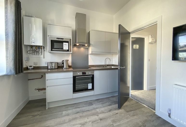 Victoria by Pureserviced, Plymouth, Luxury-Apartment, Eigene Küche