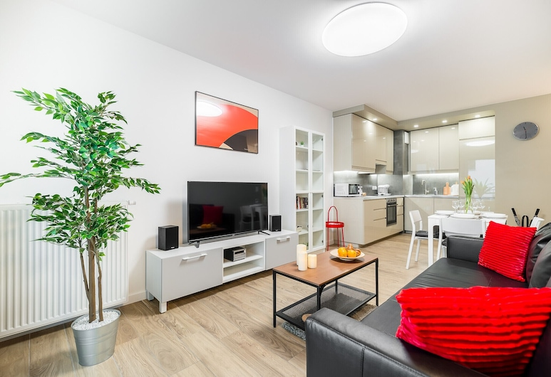 Apartments Kontinuum Gdansk by Renters, Gdansk, Apartment, 1 Bedroom, Balcony, Living Room