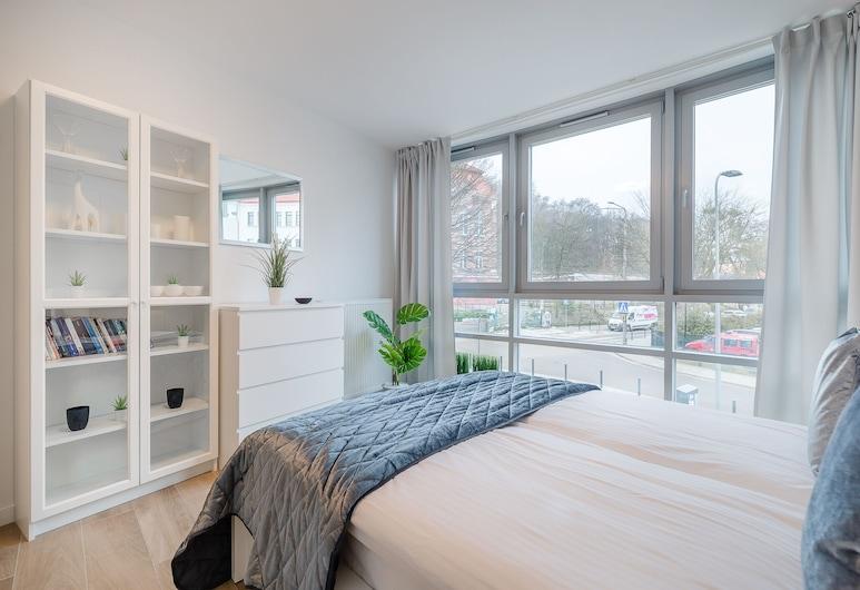 Apartments Kontinuum Gdansk by Renters, دانسك, شقة - غرفة نوم واحدة - بشرفة, منطقة المعيشة