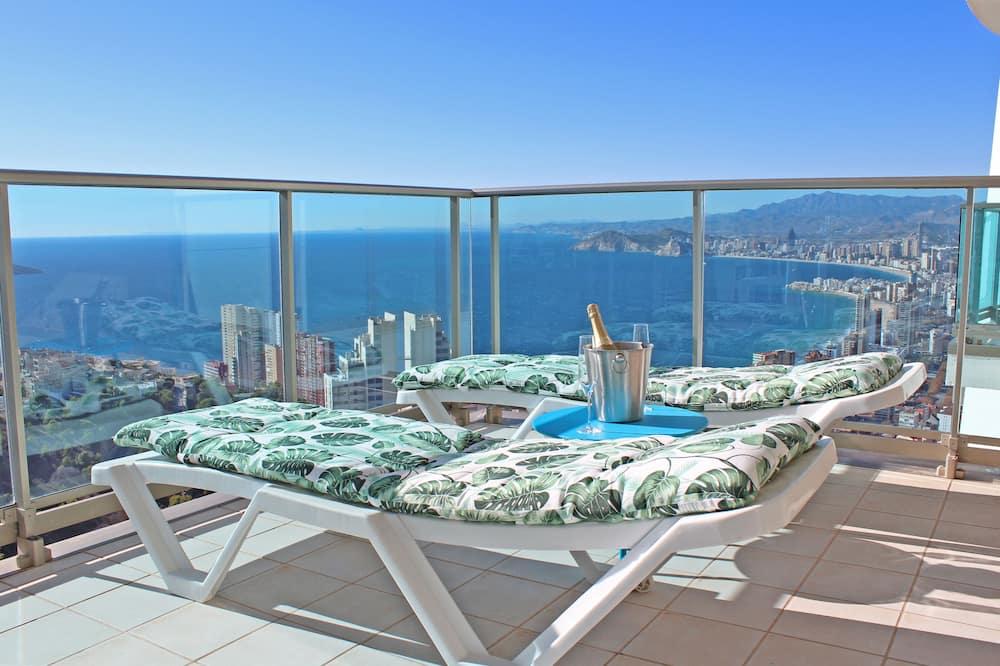 패밀리 아파트, 테라스, 바다 전망 - 발코니