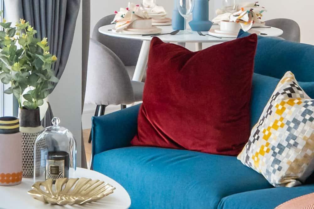 דירה קלאסית - חדר אורחים