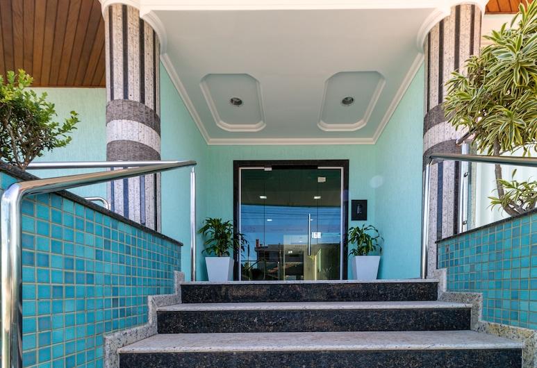 Aluguel Apartamento 3 quartos - 641C, Bombinhas, Entrada del establecimiento