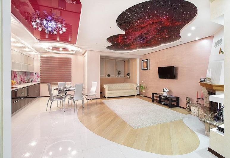 PaulMarie Apartments on Mayakovskogo, Brest, Elite Apart Daire, Oturma Odası