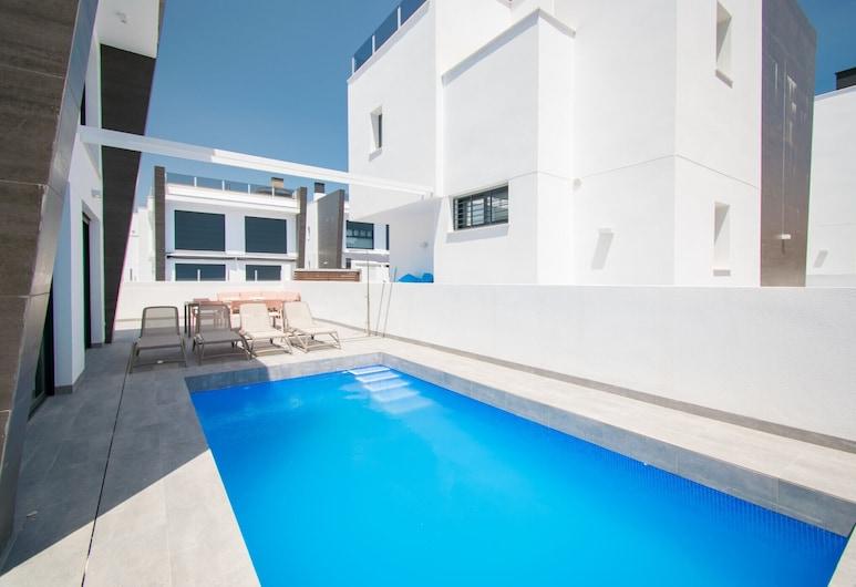 205 Luxury Gran Villa - Alicante Holiday, Santa Pola, Alberca