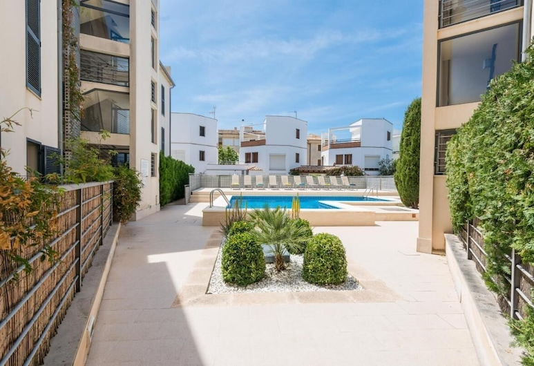 Residencial Llenaire Apartment, Pollensa, Bazén