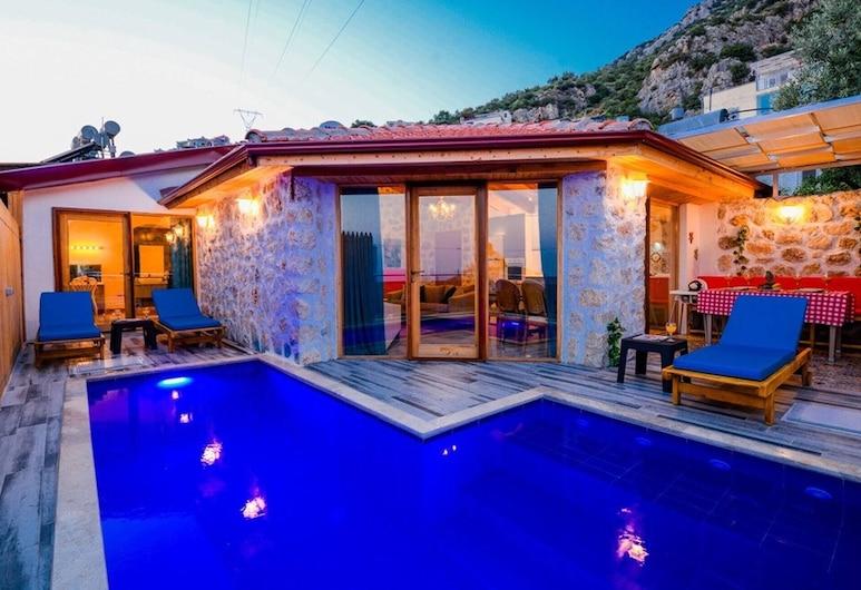 2 Bedrooms Villa With Private Pool-reston Villa, Kas, Pool