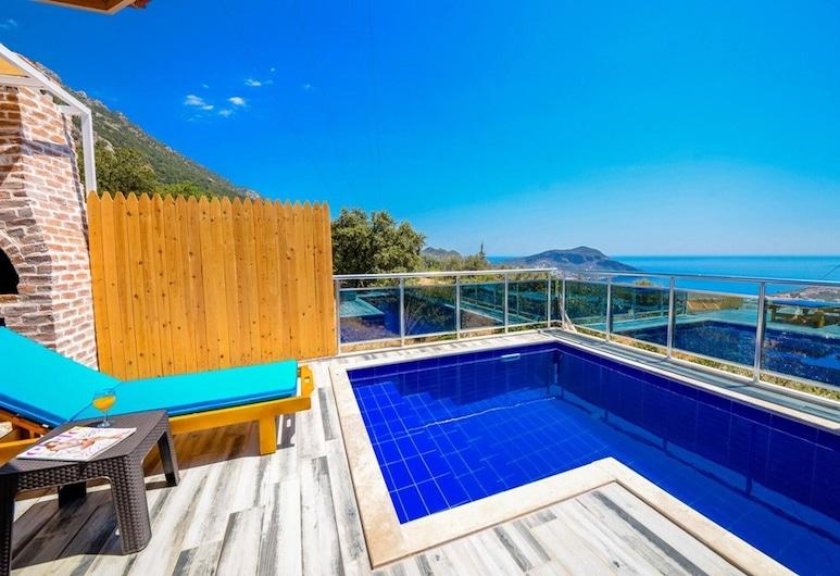 2 Bedrooms Villa With Private Pool-reston Villa, Kas, Balcón