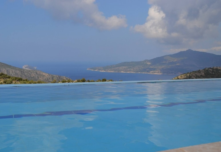 Private Pool Villa With Infinity View-minos Villa, Kas, Bazén