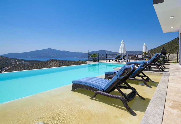 Luxury Villa With Private Ndoor And Outdoor Pool, Kas, Basen