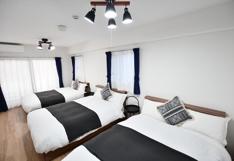 Riverside Inn Hakata, Fukuoka, Deluxe-íbúð - Reykherbergi, Herbergi
