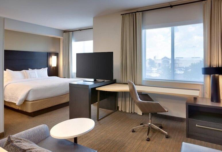 Residence Inn by Marriott Valencia, Valencia, Monolocale Standard, 1 letto king con divano letto, Camera
