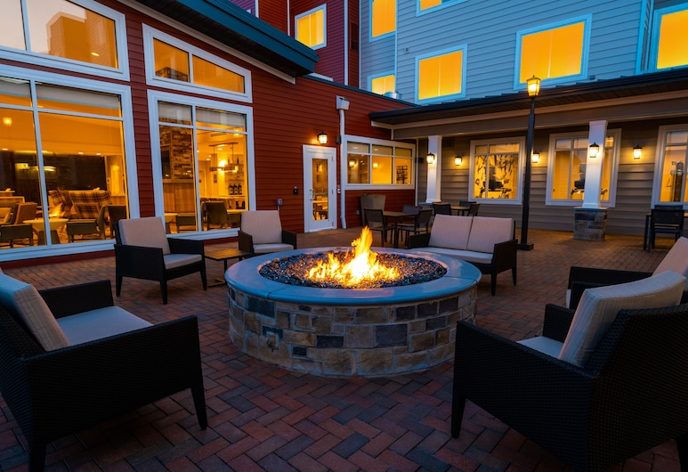 Residence Inn by Marriott Grand Rapids Downtown, Grand Rapids Township, Terrasse/Patio