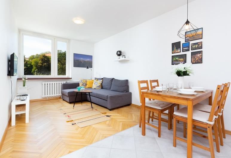 Apartment Warsaw Browarna by Renters, وارسو, شقة - غرفة نوم واحدة - بمطبخ, منطقة المعيشة
