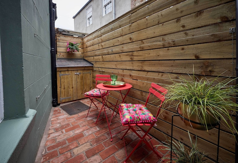 The Jungle Nook, Berwick-upon-Tweed, Departamento, Terraza o patio
