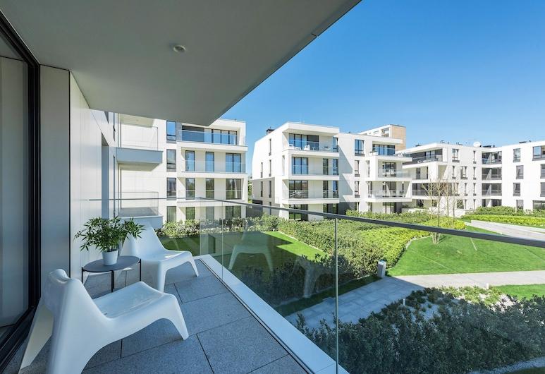 Apartment Helsinki by Renters, Sopot, Appartement, 1 chambre, balcon, Balcon