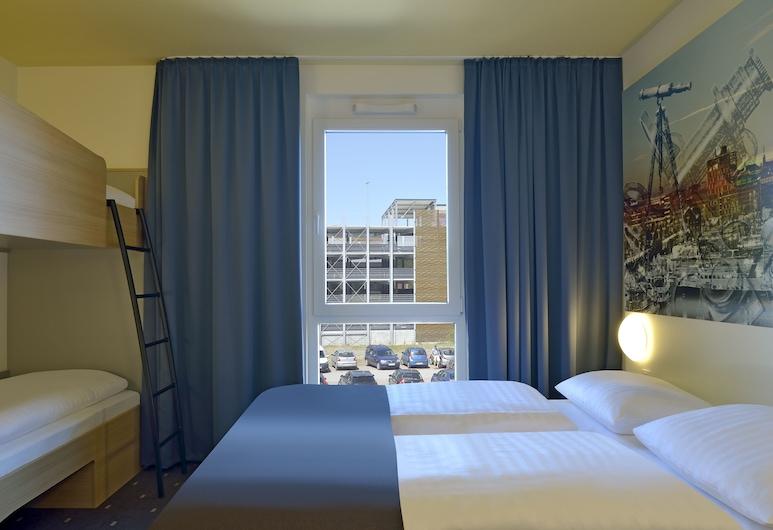 B&B Hotel Kiel-Wissenschaftspark, Kiel, Fyrbäddsrum, Gästrum