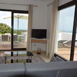 Lejlighed - 2 soveværelser - adgang til pool - havudsigt - Stue