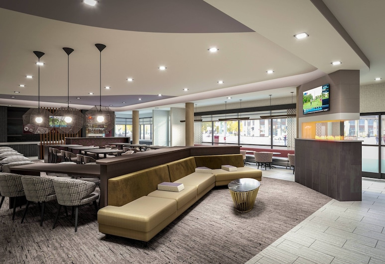 SpringHill Suites by Marriott East Rutherford Meadowlands/Carlstadt, Carlstadt, Hotelový bar