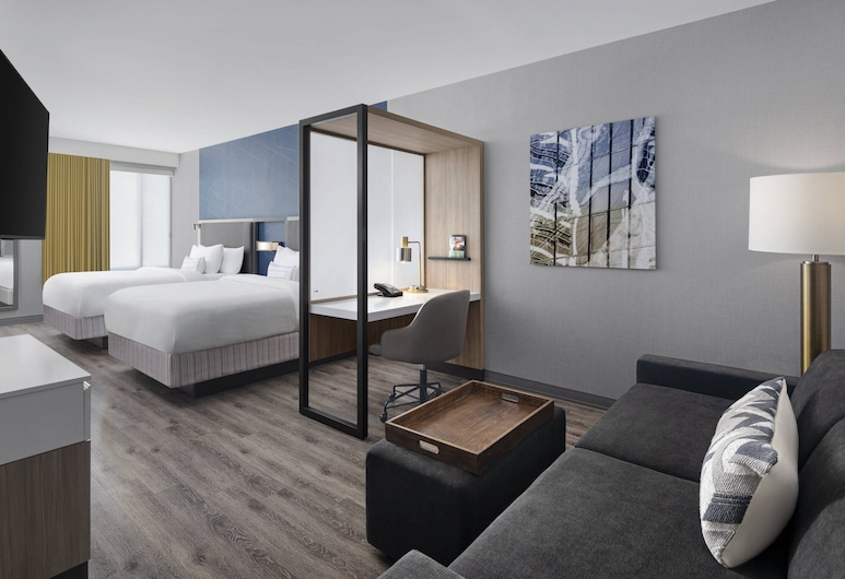 SpringHill Suites by Marriott East Rutherford Meadowlands/Carlstadt, Carlstadt, Suite, Mehrere Betten, Zimmer