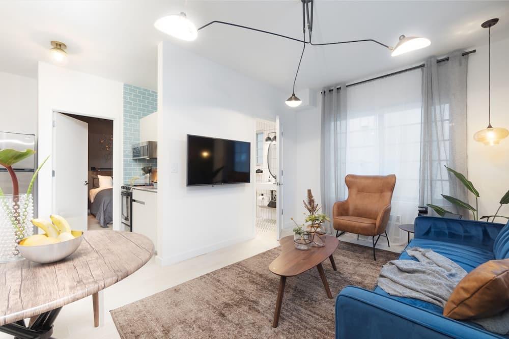 アパートメント 1 ベッドルーム バリアフリー - リビング ルーム