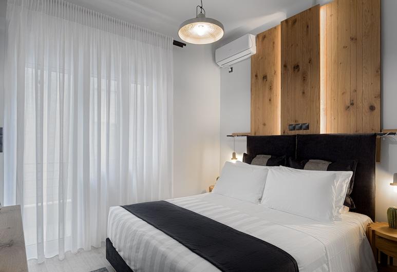 Acropolis Deluxe Apartment, Ateena, Deluxe külaliskorter, 2 magamistoaga, vaade linnale, Tuba