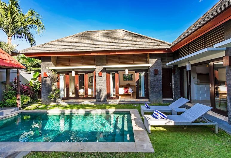 Villa Liburan Canggu, Canggu, וילה, 2 חדרי שינה, בריכה פרטית, בריכה פרטית