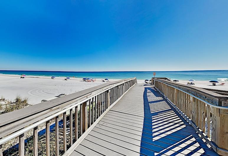 Beachfront Resort Gulf-view Pool, Tennis 2 Bedroom Condo, Destin, Appartamento, 2 camere da letto, Spiaggia