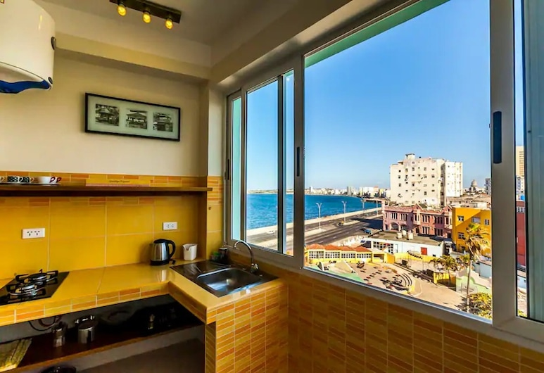 Sea View Great Location Apto 402 , Havanna, Comfort-Apartment, Eigene Kochnische