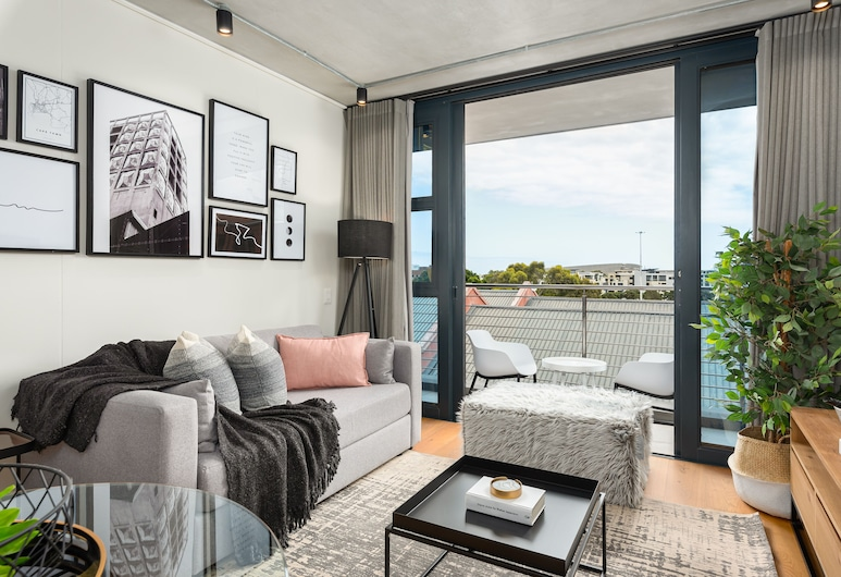 Docklands 416, Kaapstad, Premier appartement, Woonkamer