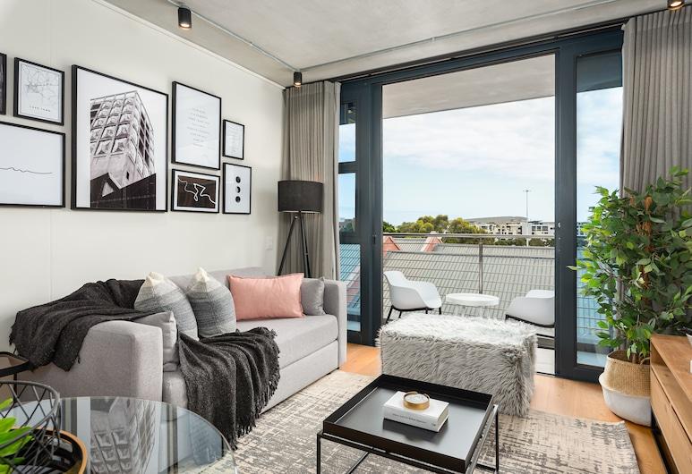 Docklands 416, Kapstadt, Premier-Apartment, Wohnzimmer